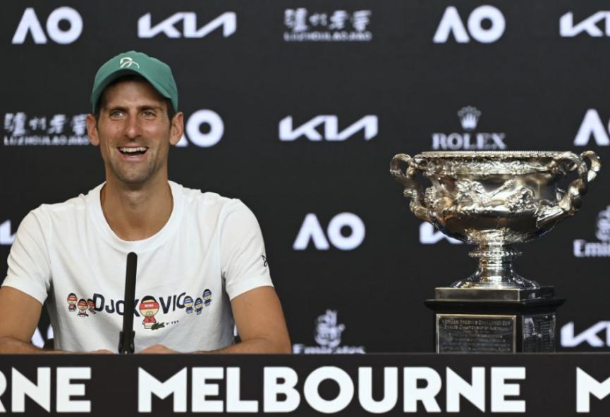 Djokovič suverénnym lídrom rebríčka ATP, prekoná rekord Federera