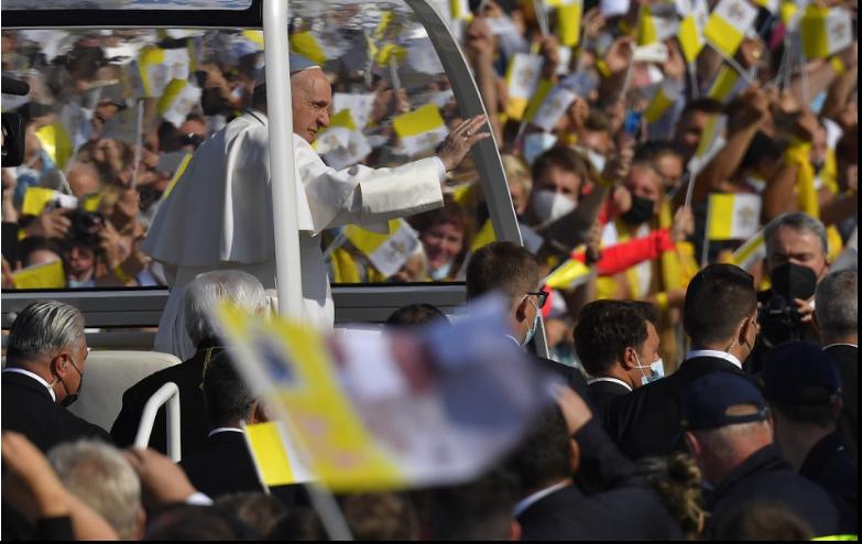 Svätý Otec prišiel do Prešova, zúčastní sa na božskej liturgii