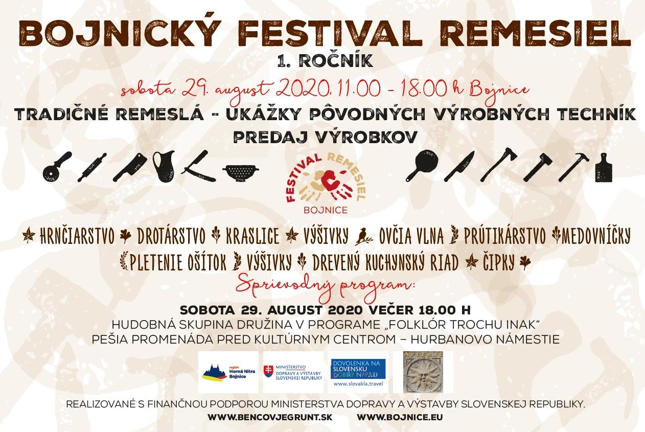 Bojnický festival remesiel oživí na konci augusta Bojnice