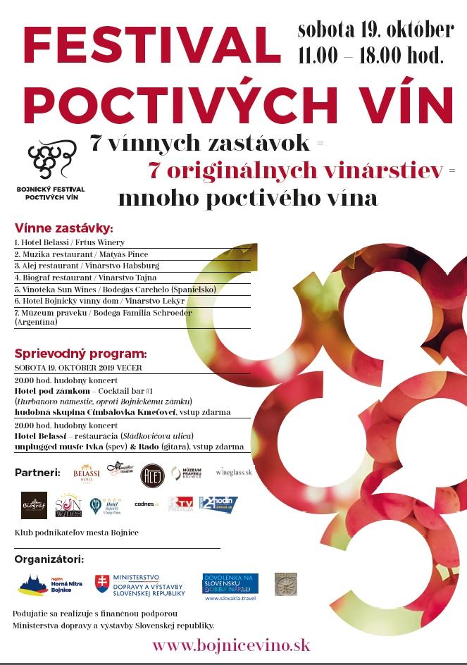 Bojnický festival poctivých vín