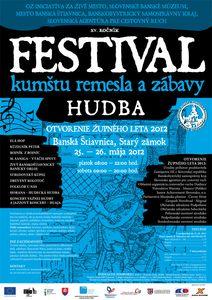Festival kumštu, remesla a zábavy 2012 - Banská Štiavnica