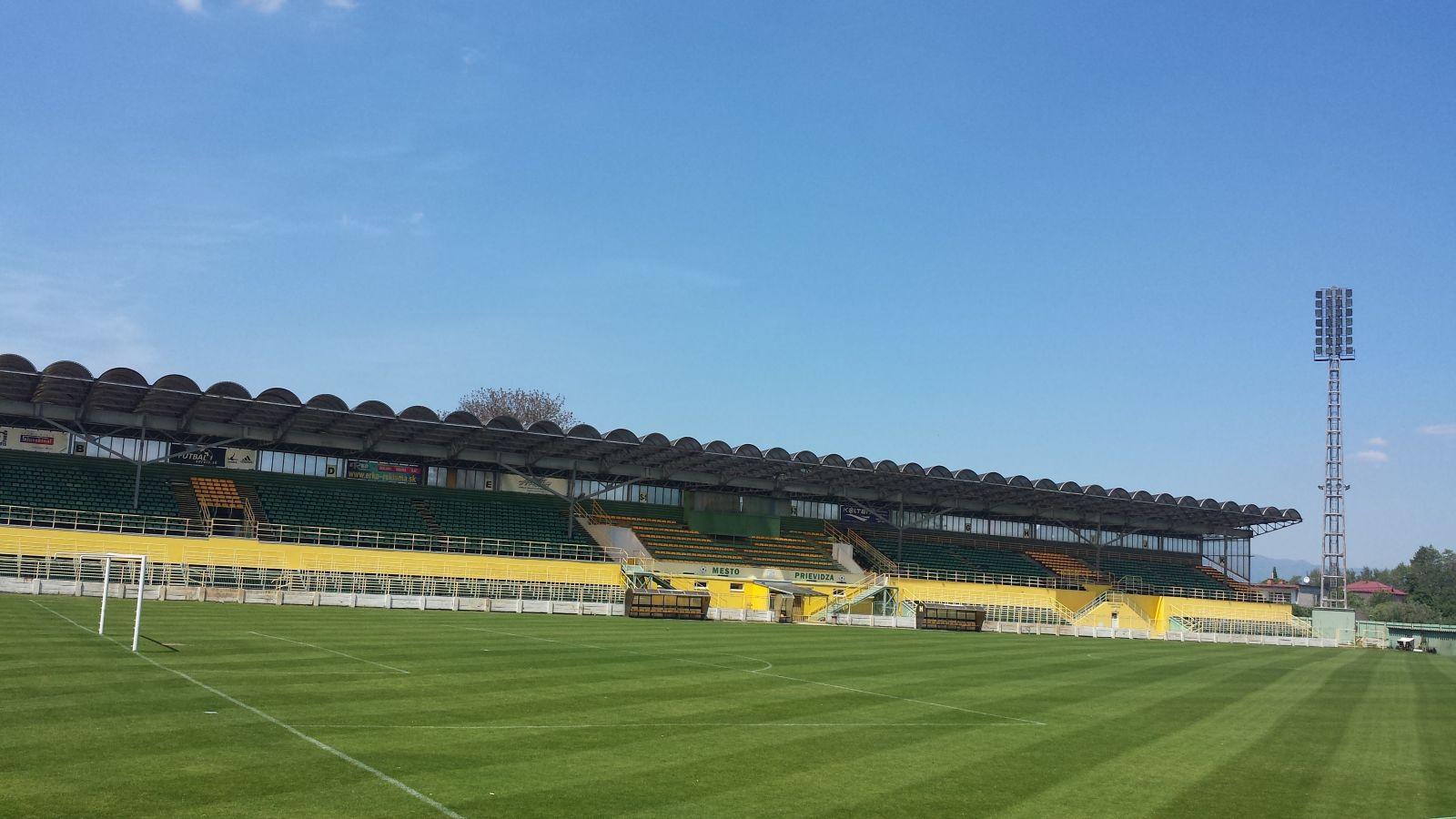 Prievidza: Prievidzský futbalový štadión zrekonštruujú za 1,23 milióna eur