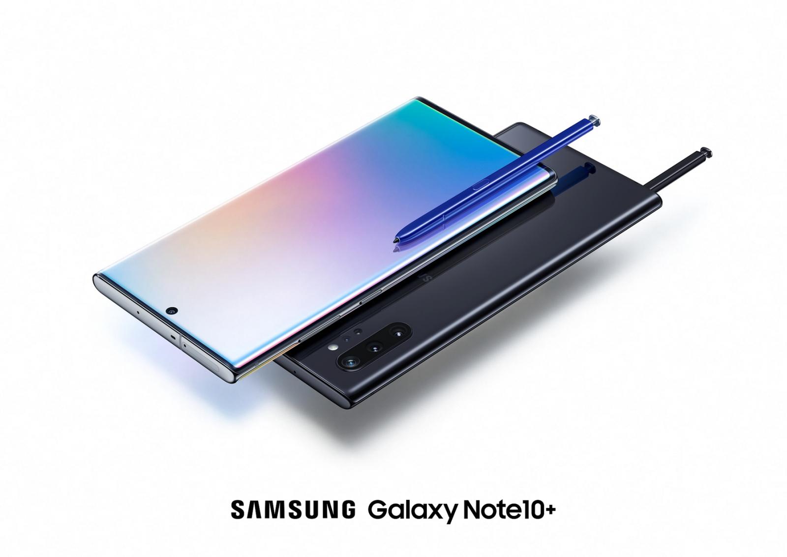 Samsung predstavil Galaxy Note10