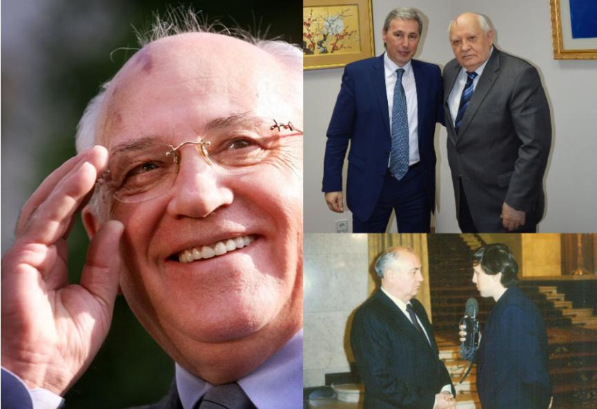 MICHAIL GORBAČOV oslavuje 90. narodeniny