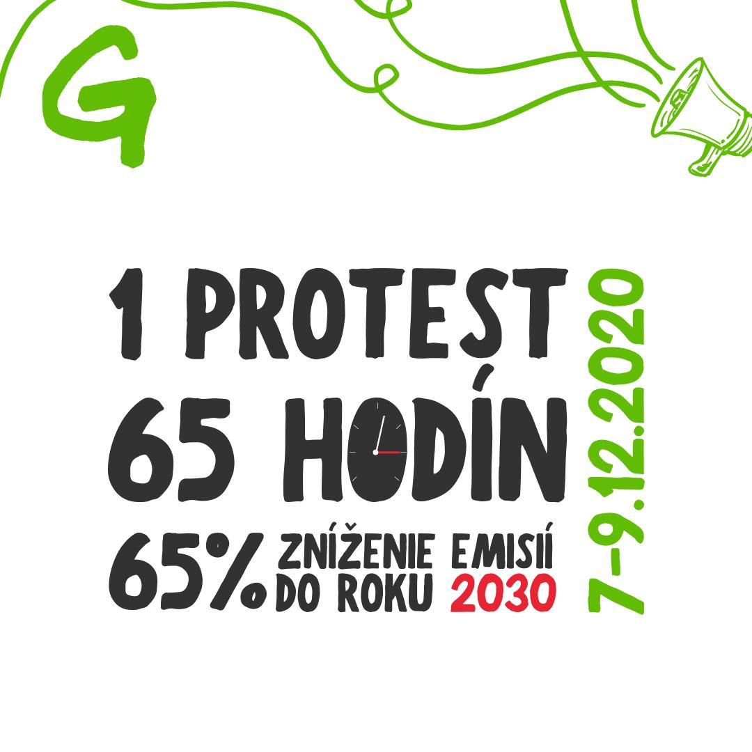 Greenpeace začal 65-hodinový protest pred Úradom vlády SR