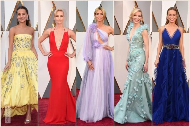 Oscar 2016: Pozrite si dych vyrážajúce róby celebrít!
