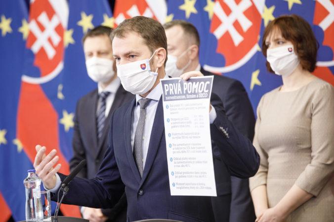 """Matovič predstavil sedem opatrení, nazvali ich """"Prvá pomoc zamestnancom, firmám a SZČO"""""""