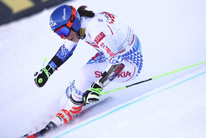 Petra Vlhová ide v Sestriere paralelný obrovský slalom