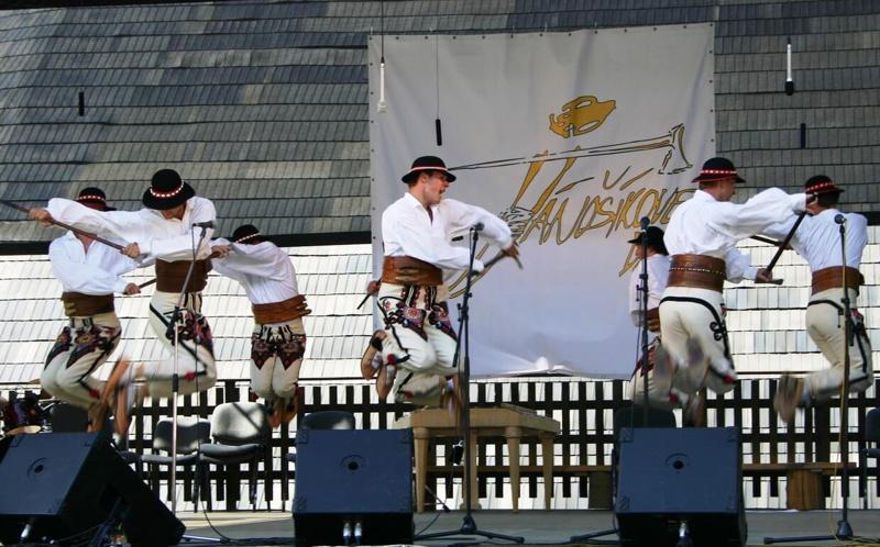Jánošíkove dni v Terchovej sa uskutočnia na prelome júla a augusta