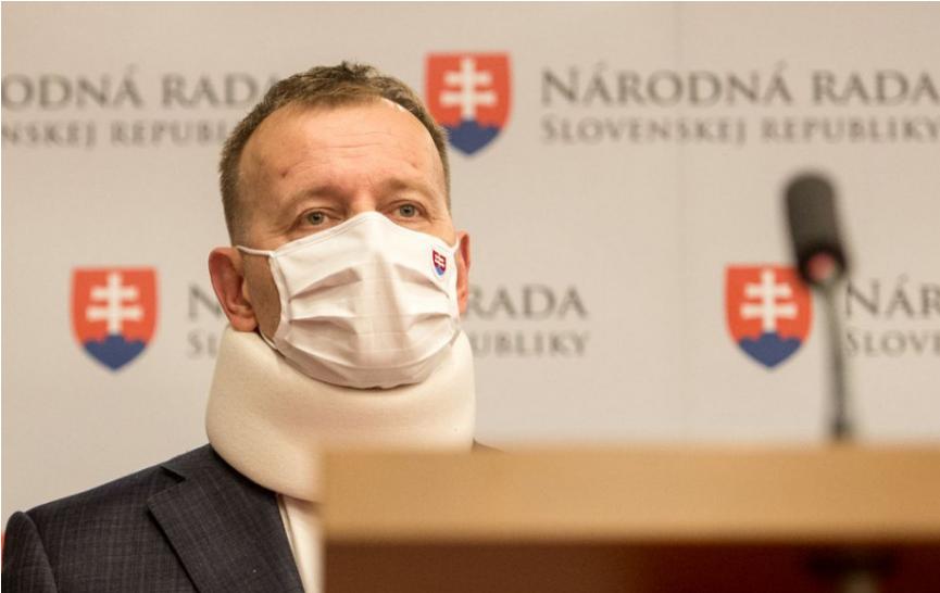 B. Kollár absolvoval očkovanie proti COVID-19