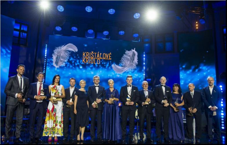 Krištáľové krídlo za rok 2020 získalo 13 slovenských osobností