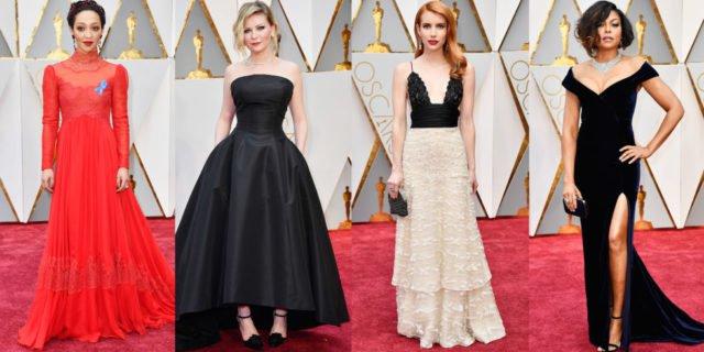 Móda Oscar 2017: Bledá Nicole, strapatá Halle Berry, či konečne oblečená Dakota