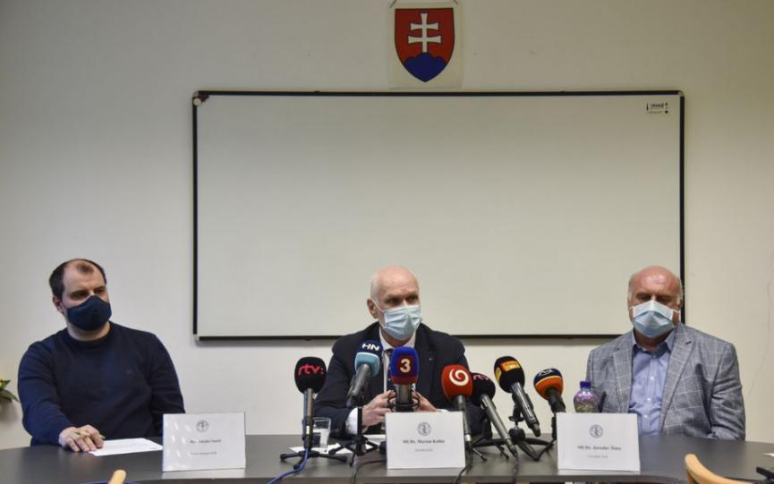 Lekárska komora vyzýva vládu SR, aby zvážila celoplošné testovanie