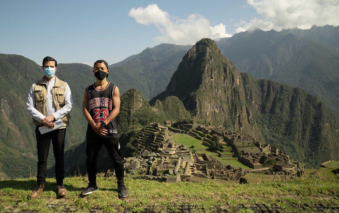 Machu Picchu navštívil prvý turista od začiatku pandémie