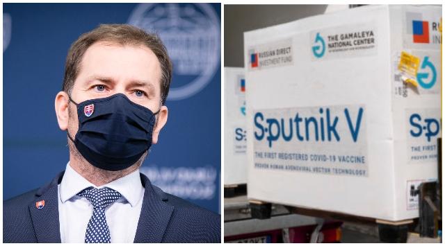Buchnite si šampanské, píše Matovič. Rusi požiadali o vrátenie vakcín Sputnik V a ukončenie zmluvy