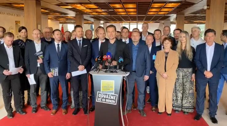 OĽANO predstavilo volebný program, chcú posilniť priamu demokraciu