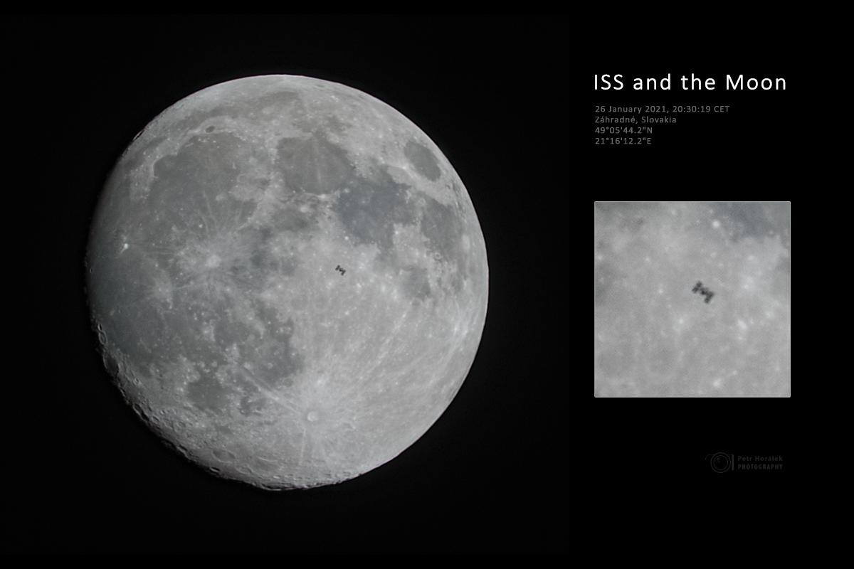 Foto: Nad východným Slovenskom sa pred Mesiacom zjavila kozmická stanica.