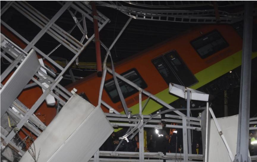 TRAGÉDIA V MEXICO CITY: Zrútila sa časť mosta, trinásť mŕtvych (video)