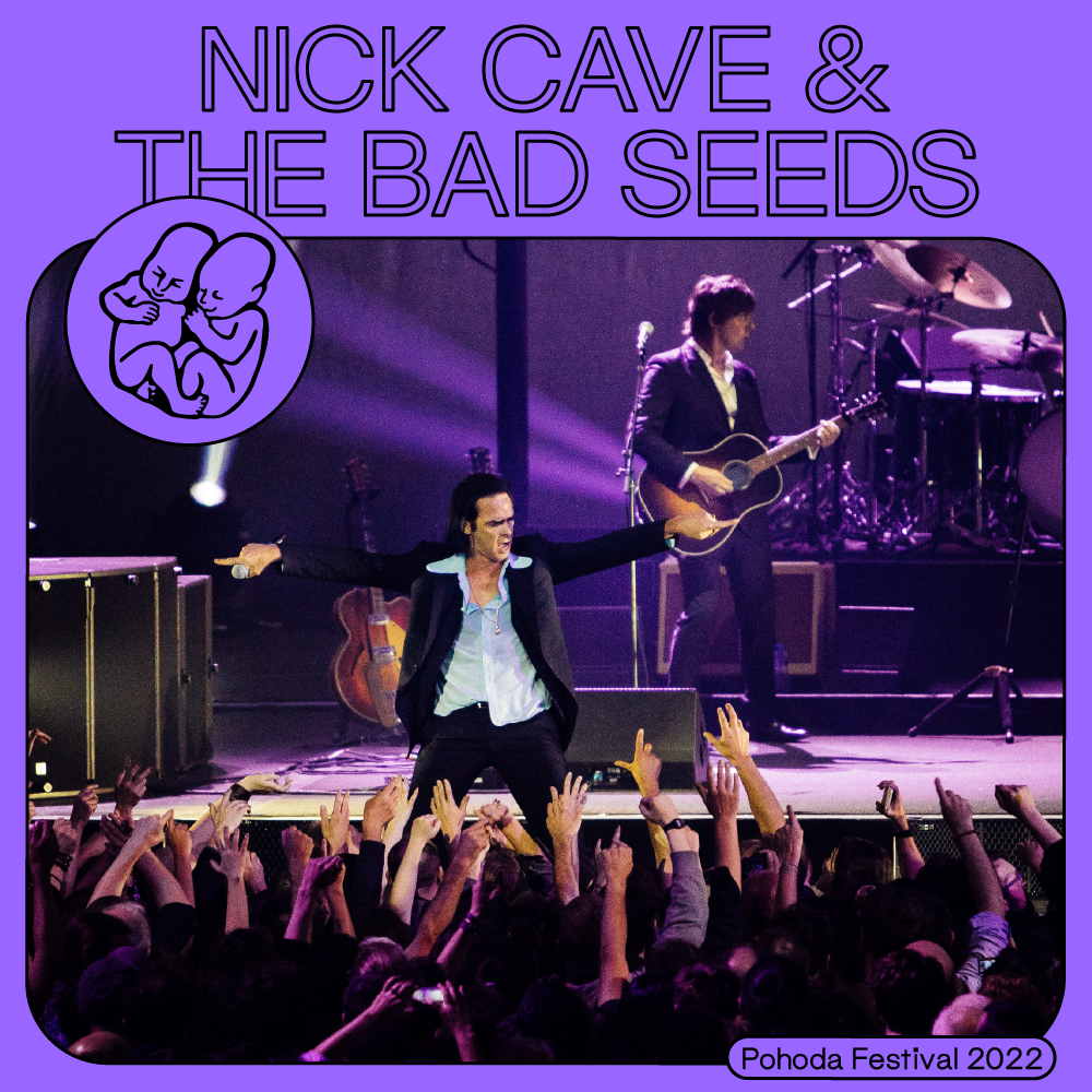 NICK CAVE & THE BAD SEEDS NA POHODE 2022