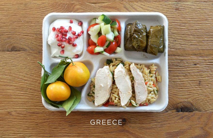 školské obedy v jednotlivých krajinách sveta