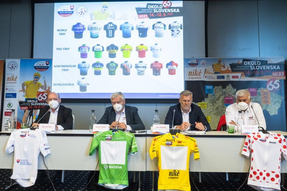 Na Okolo Slovenska 2021 bude štartovať až sedem World tímov