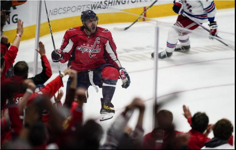 NHL: Ovečkin prekonal Dionnea, Washington s Fehervárym zdolal NY Rangers
