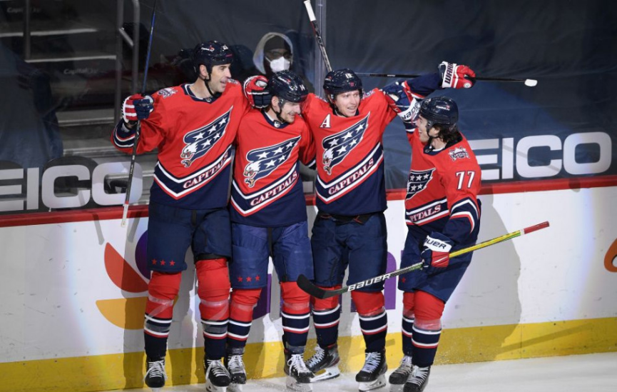 NHL: Washington s Chárom a Pánikom vyhral na ľade New Jersey 5:2