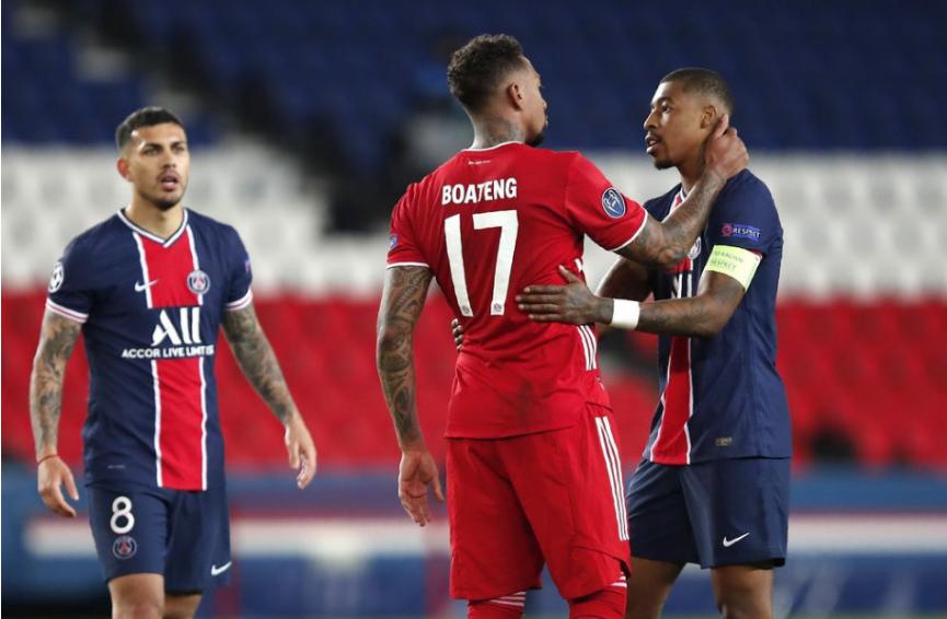 Víťazstvo v jubilejnom 100. zápase vo vyraďovacej fáze Ligy majstrov malo pre futbalistov Bayernu Mníchov trpkú príchuť. Nemecký tím sa stal prvým obhajcom trofeje, ktorý stroskotal na neúspešnom finalistovi z minulej sezóny. Paríž St. Germain postúpil do semifinále napriek domácej prehre 0:1, v úvodnom štvrťfinálovom dueli totiž triumfoval v Mníchove 3:2.