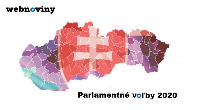 Priebežné a kompletné výsledky volieb: Parlamentné voľby 2020 na Slovensku