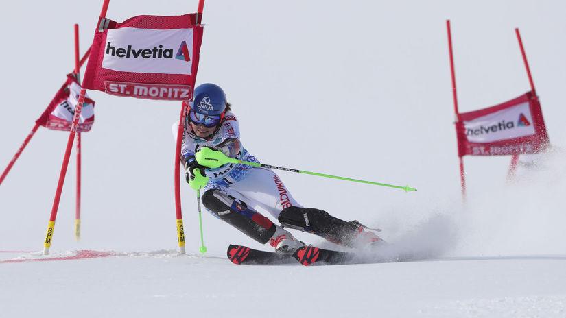 Nádhera: Petra Vlhová vyhrala paralelný slalom v St. Moritzi!