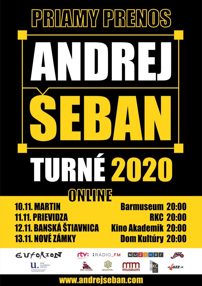Andrej Šeban PRIAMY PRENOS - TURNÉ 2020