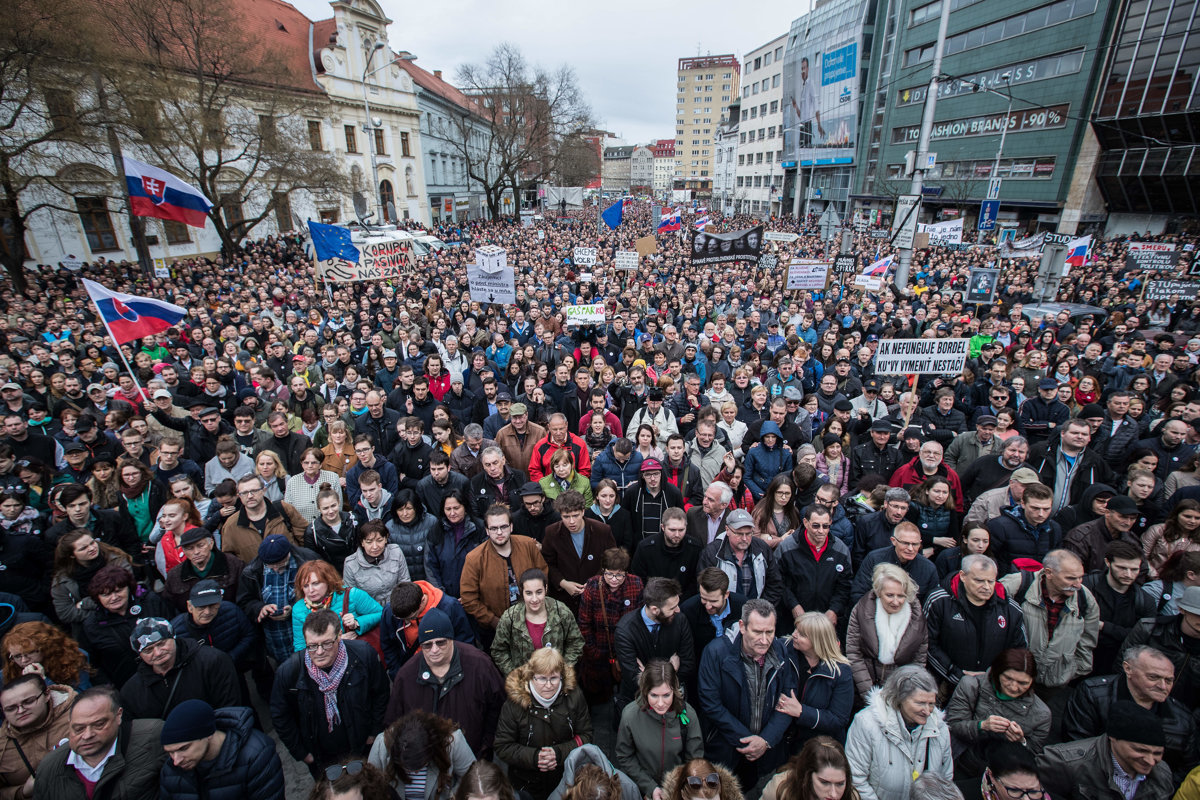 68be48dbe Protesty za slušné Slovensko sa dnes opäť konajú vo viacerých mestách. (zoznam  miest) - 24hod.sk