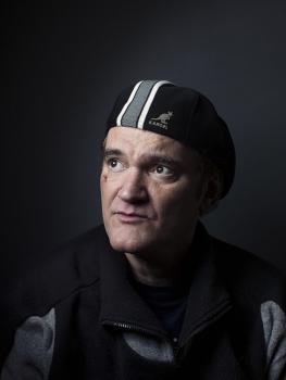 Režisér Quentin Tarantino pózuje pri príležitosti uvedenia jeho filmu Divoký Django, 16. decembra 2012 v New Yorku.Foto: SITA/AP