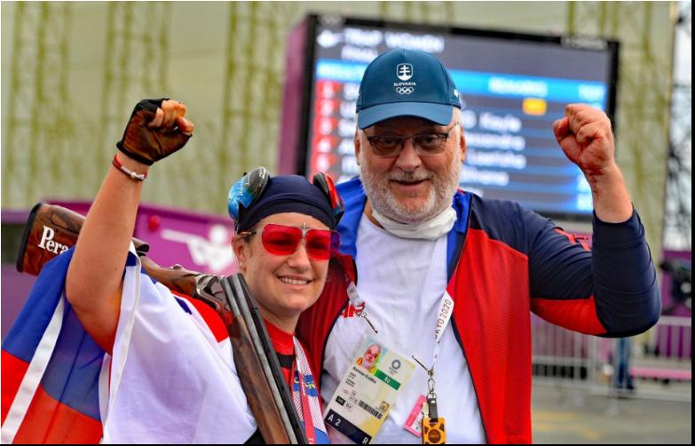 Zuzana Rehák Štefečeková získala vo štvrtok zlatú olympijskú medailu v trape.