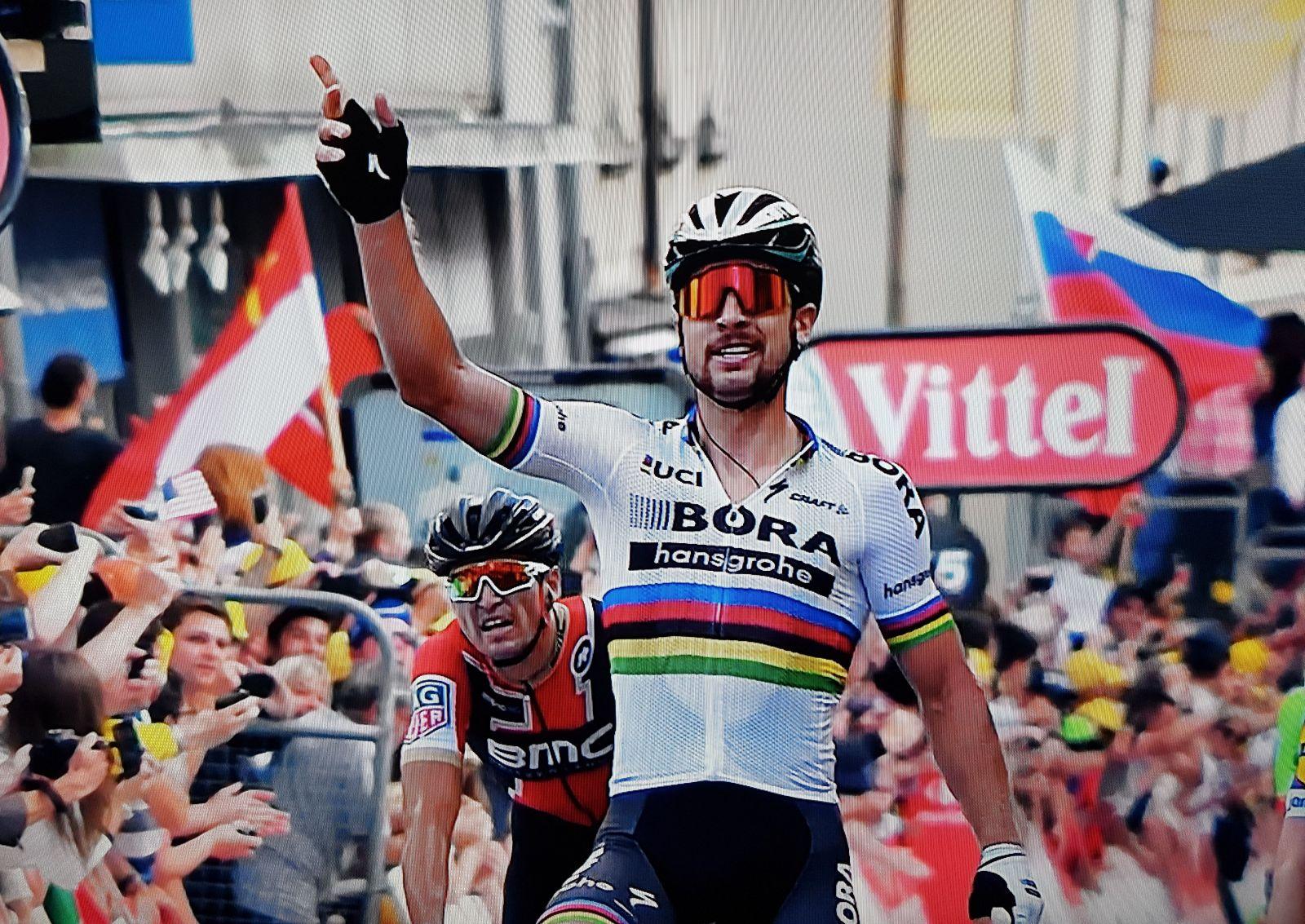 6e4aa019dd850 Video: Skvelý Peter Sagan vyhral tretiu etapu na Tour de France  (aktualizované)
