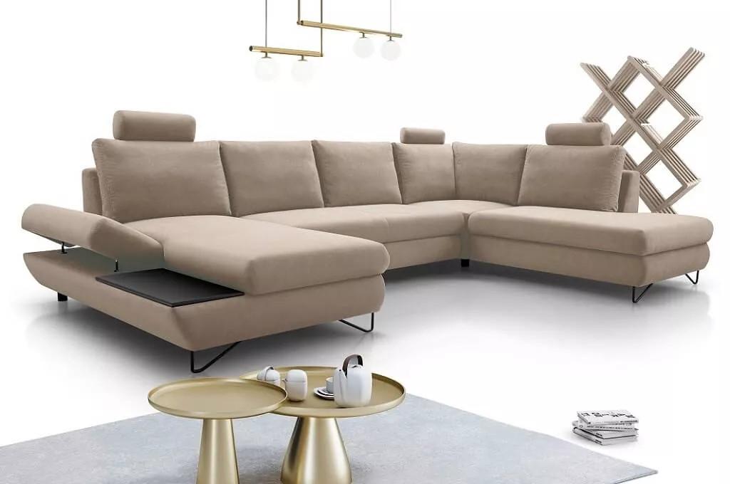 Sedačka je centrálnym prvkom obývacej izby, preto by ste si pri jej výbere mali dať záležať. Sedačka Stockholm. Zdroj:okay.sk