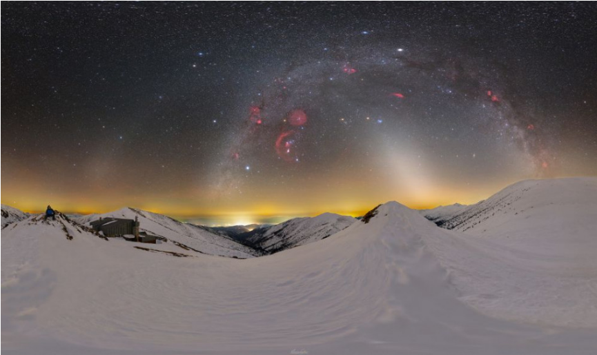 Astrofotograf Slovinský ocenením upozornil na svetelné znečistenie