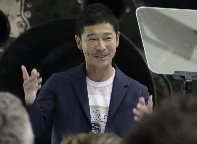 Japonský podnikateľ Yusaku Maezawa