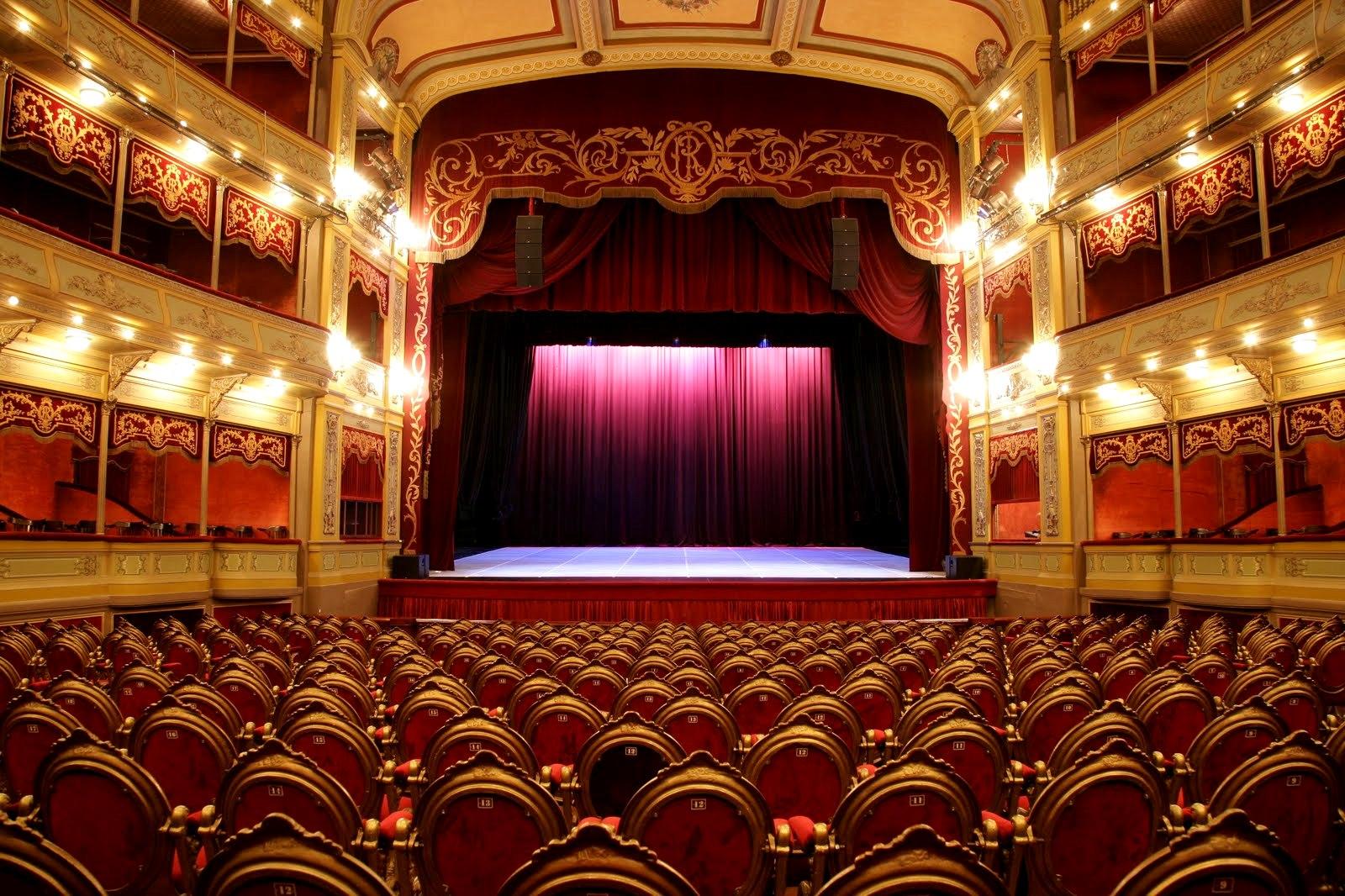 divadelná sála Argentína
