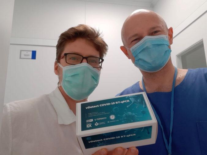 Pavol Čekan: Prvých stotisíc slovenských testov na koronavírus je pripravených, vydržia 40 dní