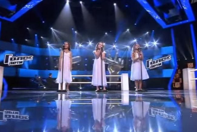 Tieto tri anjelské hlásky rozplakali Rusko!