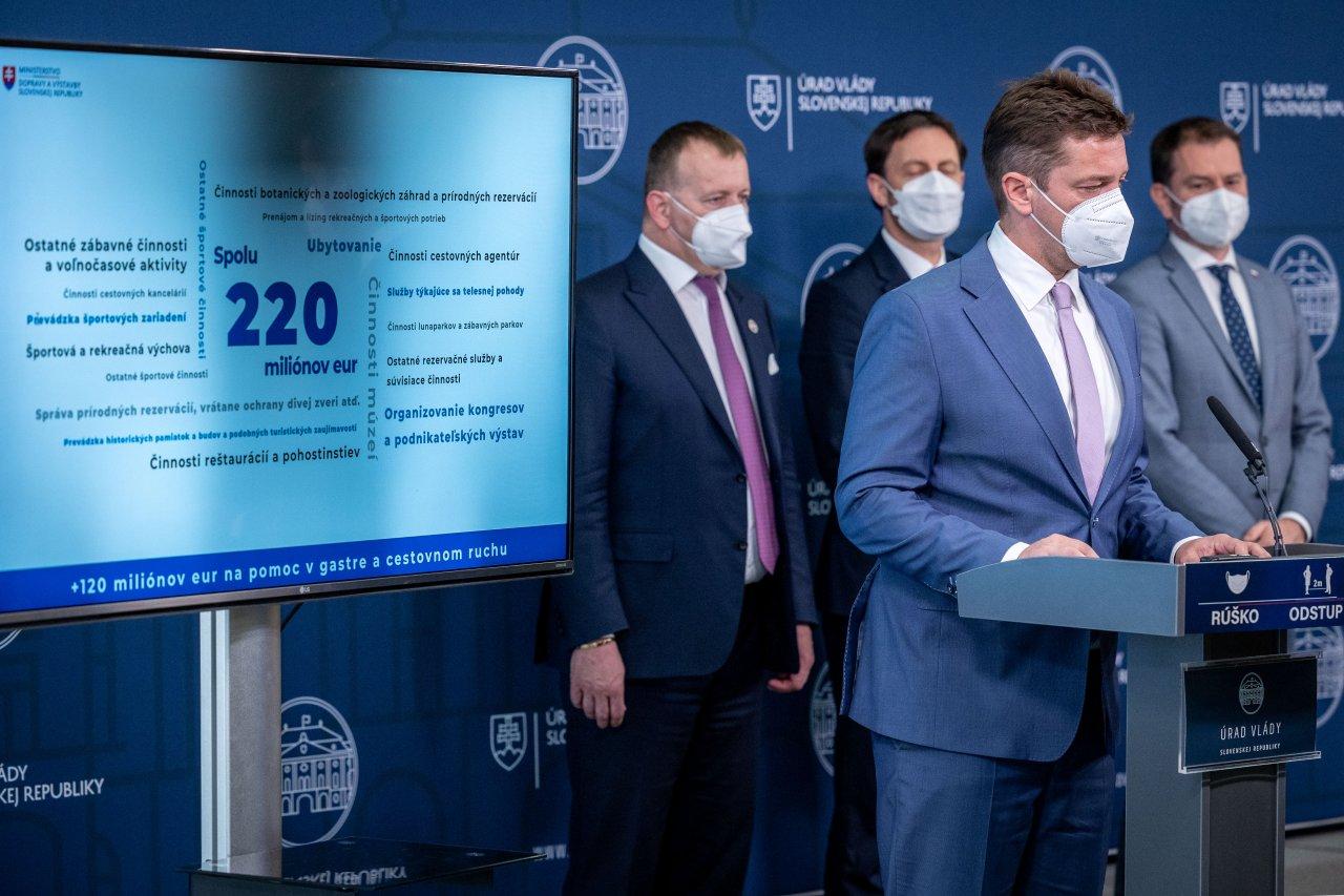 Vláda ohlásila rozšírenie pomoci pre cestovný ruch zasiahnutý koronakrízou o ďalších 120 miliónov eur