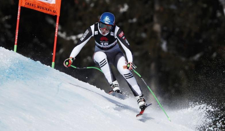 Petra Vlhová skončila na štvrtom mieste v piatkovom zjazde Svetového pohára.