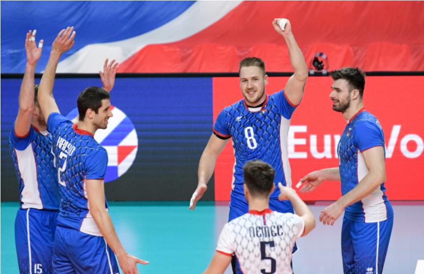 Slovenskí volejbalisti zdolali Albáncov 3:1 a majú deväť bodov