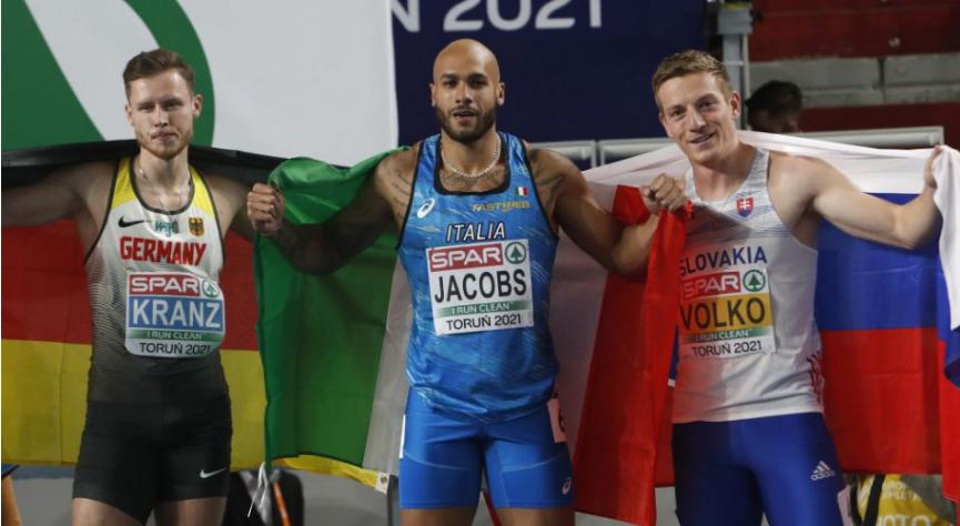Ján Volko získal bronz na atletických halových majstrovstvách Európy v Toruni.