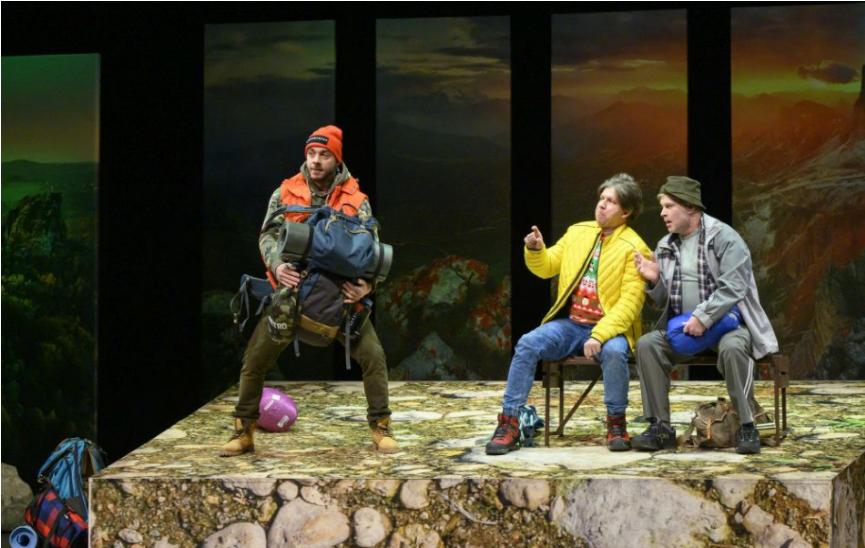 Nová scéna otvára brány divákom premiérou komédie Výstup