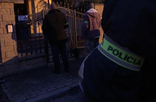 Zadržanie bývalého generálneho prokurátora Dobroslava Trnku.