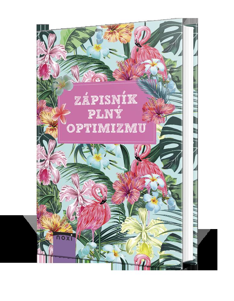 Zápisník plný optimizmu pre vaše nápady