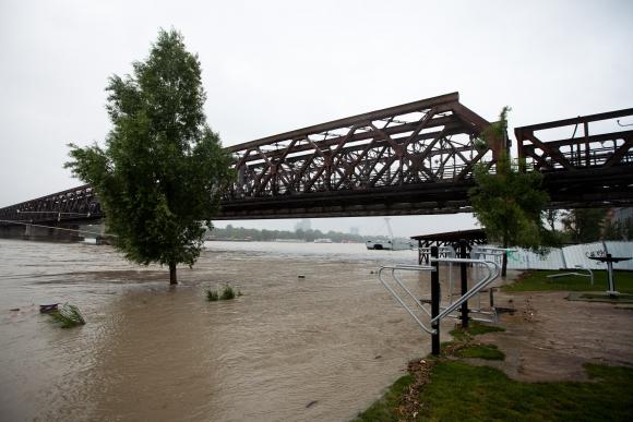 Záplavy v Bratislave