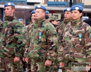Slávnostná vojenská prehliadka v bratislave prilákala niekoľko